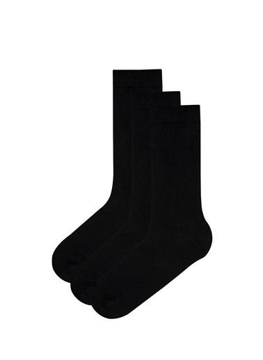 Penti Erkek Basic 3Lü Soket Çorap Siyah